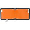 Kleine Gefahrgut-Warntafel klappbar gemäß Gefahrgutverordnung GGVSEB/ADR