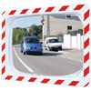 Unzerbrechlicher Verkehrsspiegel rechteckig für den Innen- und Außeneinsatz