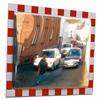Unzerbrechlicher Verkehrsspiegel aus Edelstahl für den Innen- und Außeneinsatz