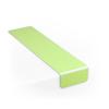 Treppenmarkierungswinkel langnachleuchtend, Antirutsch-Oberfläche
