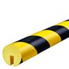 Warn- und Schutzprofil Typ B - Farbe gelb/schwarz