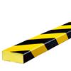 Warn- und Schutzprofil Typ D - Farbe gelb/schwarz