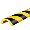 Warn- und Schutzprofil Typ R50 - Farbe gelb/schwarz