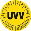 Prüfplakette UVV 2019 - 2024