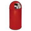 Abfallsammler mit Einwurfklappe, Fassungsvermögen ca. 50 Liter