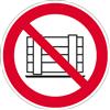 Abstellen oder Lagern verboten ISO 7010