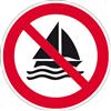 Segeln verboten