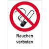 Rauchen verboten mit Symbol