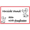 Witzschild - Vorsicht Hund!
