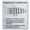 Etiketten aus Aluminiumfolie