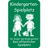 Kindergarten-Spielplatz ...