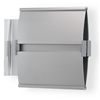 Fahnenadapter aus silber eloxiertem Aluminium