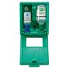 Augen-Notfallstation in Wandbox mit Phosphatpufferlösung u. Natriumchloridlösung
