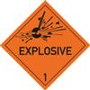 """Explosive Stoffe u. Gegenstände ... mit Text """"EXPLOSIVE"""""""
