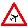VZ-Nr. 101-20, Flugbetrieb (Aufstellung links)