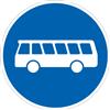 VZ-Nr. 245, Bussonderfahrstreifen