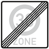 VZ-Nr. 274.2, Ende einer Tempo 30-Zone