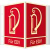 Winkelschild Feuerlöschgerät (FÜR EDV)