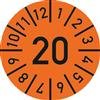 Prüfplakette zur Werkzeugkennzeichnung 2020