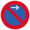 VZ-Nr. 286-21, Eingeschränktes Haltverbot Anfang (Linksaufstellung)
