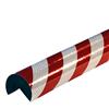 Warn- und Schutzprofil Typ A+ - Farbe rot/weiß reflektierend