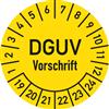 Prüfplakette DGUV-Vorschrift 2019-2024