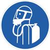 Umgebungsluftunabhängigen Atemschutz benutzen