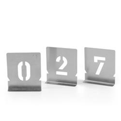 Malerschablonen, Einzelziffern von 0-9