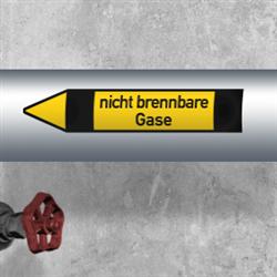 Fließrichtungspfeile, Gruppe 5 - Nichtbrennbare Gase