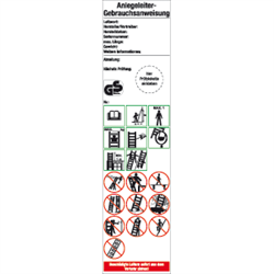 Anlegeleiter-Gebrauchsanweisung