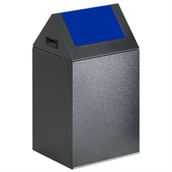 Wertstoffsammelgerät mit Schwingdeckel, Fassungsvermögen ca. 43 / 60 Liter