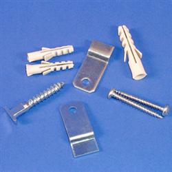 Diebstahlsicherungs-Set für Aluminiumrahmen Best.-No. 40111, 40161