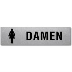 WC-Damen mit Symbol