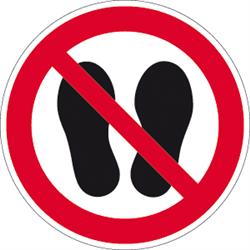 Betreten der Fläche verboten
