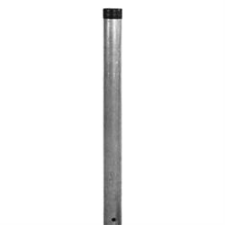 Rohrpfosten, Stahl, Typ S 120, 200 cm Länge, Ø 60,3 mm