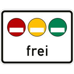 VZ-Nr. 1031-50, Freistellung vom Verkehrsverbot nach ...