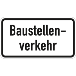 VZ-Nr. 1007-38, Baustellenverkehr