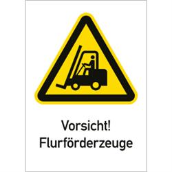 Vorsicht! Flurförderzeuge