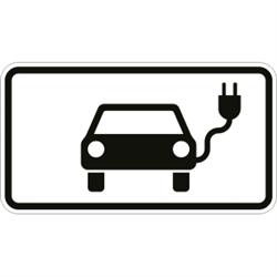 VZ-Nr. 1010-66, Elektrisch betriebene Fahrzeuge