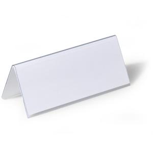 Tischnamensschild, Kunststoff, 6,1x15 cm