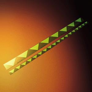 Türmarkierungsstreifen, Alu, nachleucht., 160-mcd, 6x100 cm