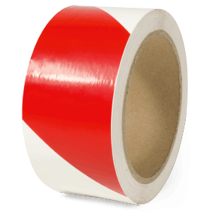 Warnmarkierung langnachleuchtend/rot, 160-mcd, rechtsweisend, Folie, 5x1600 cm