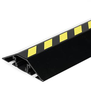 Kabelbrücken-Set aus Aluminium, Gelb-Schwarz, 8x150 cm