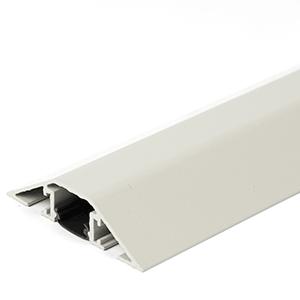 Kabelbrücken-Set aus Aluminium, Grau, 8x40 cm