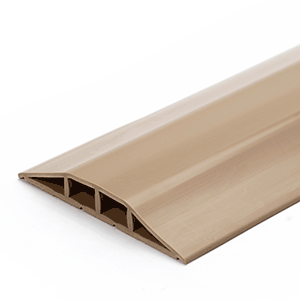 Kabelbrücken-Set aus Kunststoff, Beige, 10x300 cm