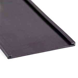 Magnetische C-Profile 15 mm, Rolle, braun, 1,5x5000 cm