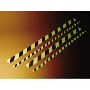 Trittschutzstreifen Warnmarkierung HIGHLIGHT, 160-mcd, selbstklebend, 5x100 cm