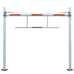 Höhenbegrenzungssperre starr zum Aufschrauben, Stahl, 6 m lichte Weite