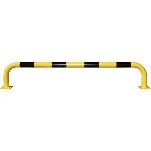 Rammschutz-Bügel, Inneneinsatz, Stahl, 35x200 cm, Ø 7,6 cm