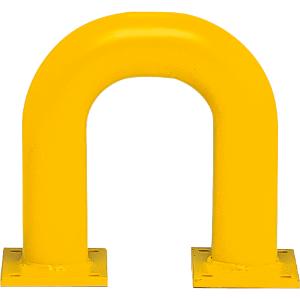 Rammschutz-Bügel, Inneneinsatz, Stahl, 35x37,5 cm, Ø 7,6 cm